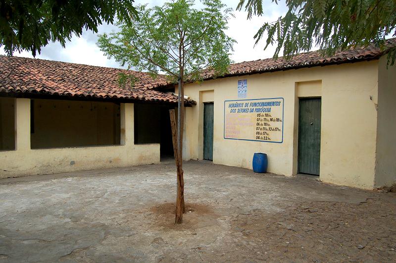 Vista de um dos alojamentos do Abrigo Santo Antônio