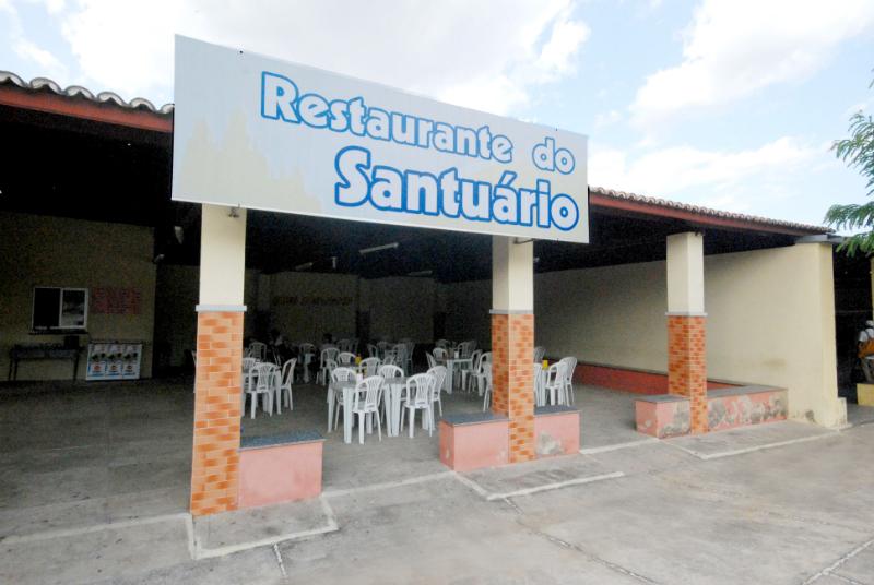 Fachada do Restaurante do Santuário