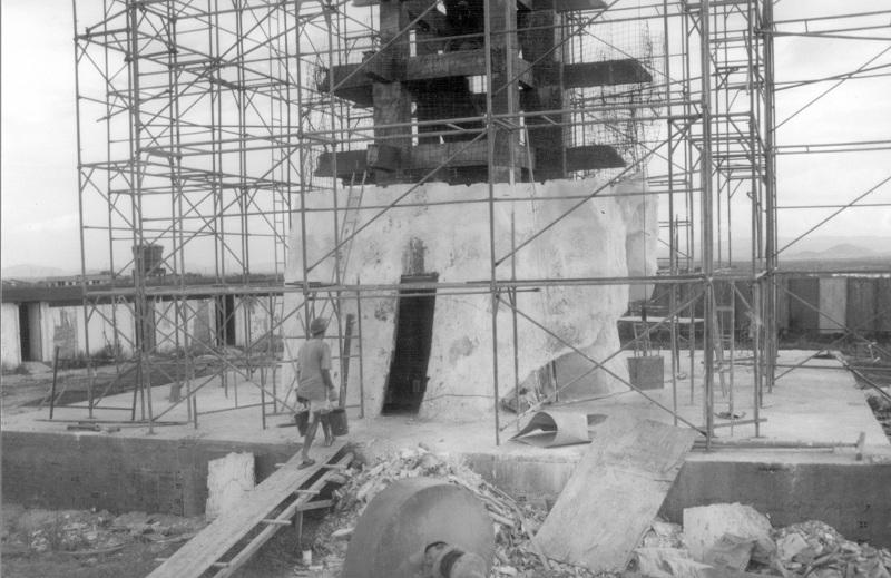 Revestimento da estrutura principal