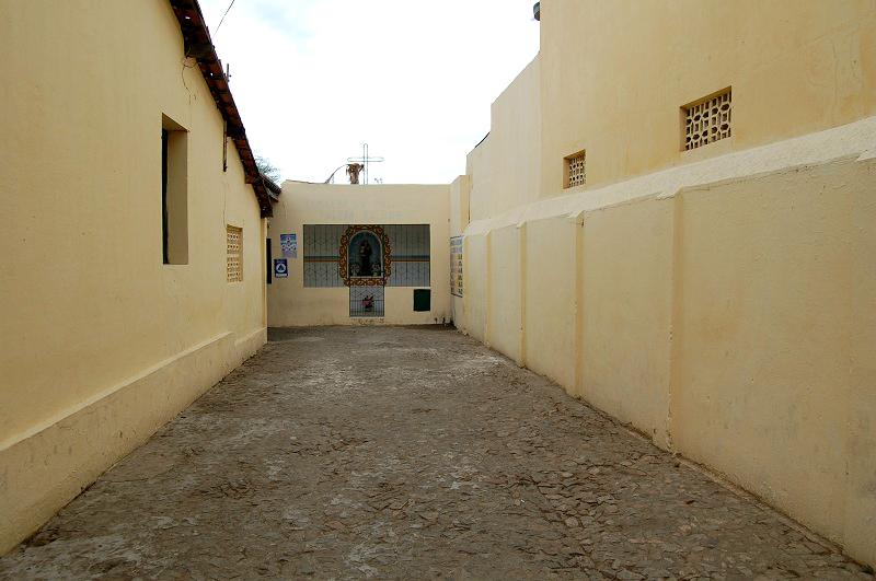 Entrada do Abrigo Santo Antônio